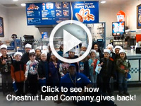 Click to see how Chestnut Land Company gives back!